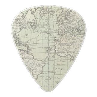 Atlantic Ocean 3 Acetal Guitar Pick