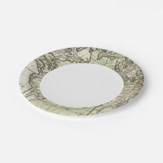 Atlantic Ocean 3 Paper Plate
