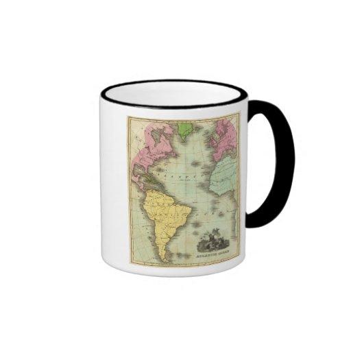 Atlantic Ocean 4 Coffee Mugs