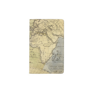 Atlantic Ocean Atlas Map Pocket Moleskine Notebook Cover With Notebook