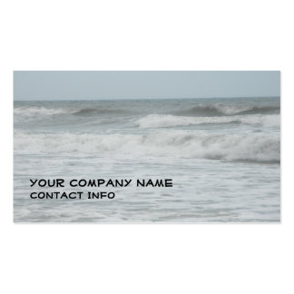 Atlantic Ocean cards Double-Sided Standard Business Cards (Pack Of 100)