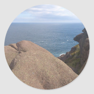 Atlantic Ocean Classic Round Sticker