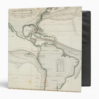 Atlantic Ocean Current Vinyl Binders