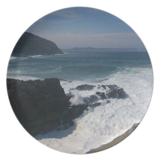 Atlantic Ocean Dinner Plate