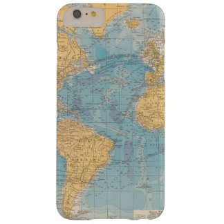 Atlantic Ocean Map Barely There iPhone 6 Plus Case
