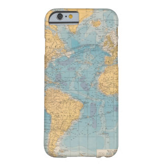 Atlantic Ocean Map Barely There iPhone 6 Case