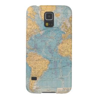 Atlantic Ocean Map Galaxy S5 Covers