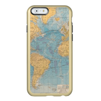 Atlantic Ocean Map Incipio Feather® Shine iPhone 6 Case
