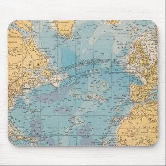 Atlantic Ocean Map Mouse Pad
