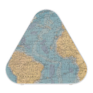 Atlantic Ocean Map Speaker
