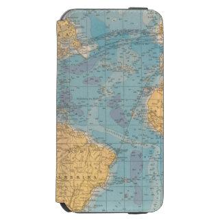Atlantic Ocean Map Incipio Watson™ iPhone 6 Wallet Case