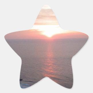 ATLANTIC OCEAN STAR STICKER