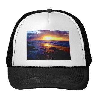 Atlantic Ocean Sunrise Mesh Hat