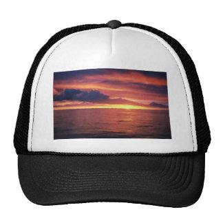 Atlantic Ocean Sunset Hat