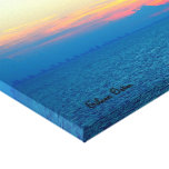Atlantic Ocean Sunset Stretched Canvas Prints