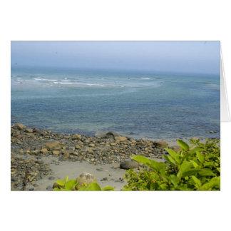 Atlantic Ocean view, Ogunquit, ME Card