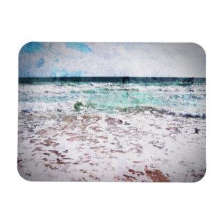 Atlantic Ocean Waves Rectangular Photo Magnet
