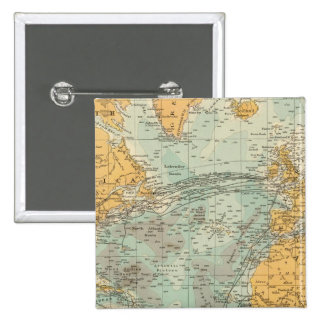 Atlantic Pinback Button
