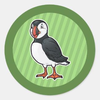 Atlantic Puffin Classic Round Sticker