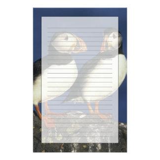 Atlantic Puffin, Fratercula arctica), in Stationery