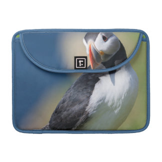 Atlantic Puffin (Fratercula Arctica) On Cliff 2 Sleeve For MacBook Pro