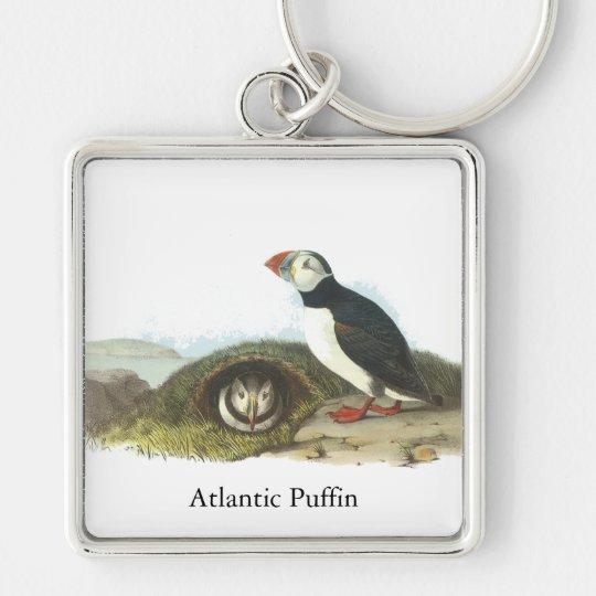 Atlantic Puffin, John Audubon Keychain