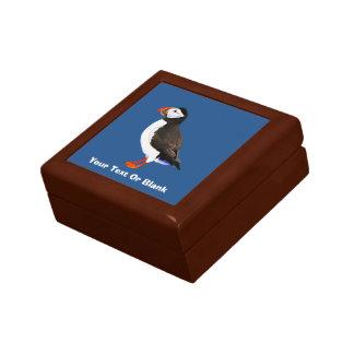 Atlantic Puffin Keepsake Box