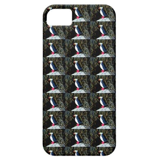 Atlantic puffin pattern case