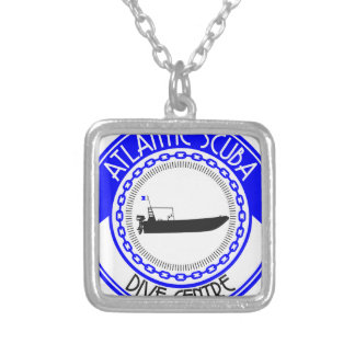 Atlantic Scuba Products Silver Plated Necklace