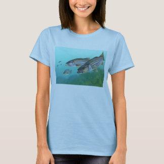 Atlantic Striped Bass Fish Morone Saxatilis T-Shirt