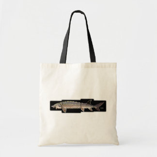 Atlantic Sturgeon - Acipenser oxyrinchus Canvas Bag