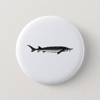 Atlantic Sturgeon Pinback Button