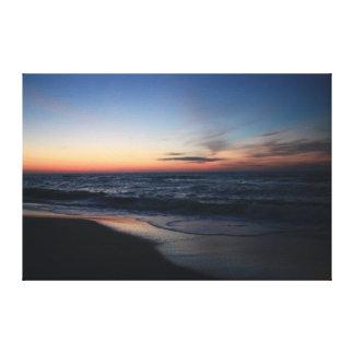 Atlantic Sunrise Canvas Wrap #4596