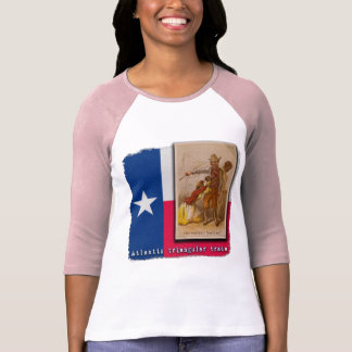 Atlantic Triangular Trade Texas Protest Tshirt