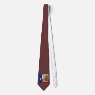 Atlantic Triangular Trade Texas Protest Tshirt Neck Tie