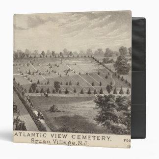 Atlantic View Cemetery, Squan Village, NJ 3 Ring Binders