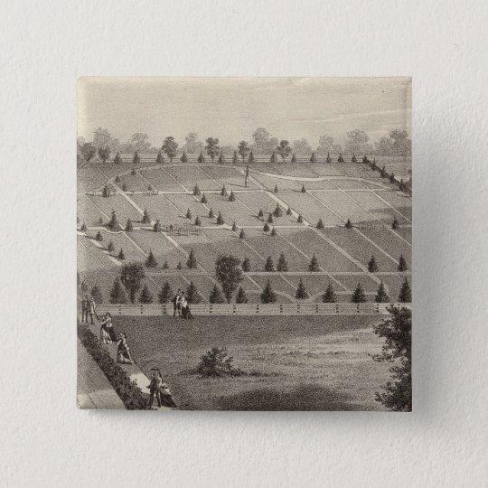 Atlantic View Cemetery, Squan Village, NJ Pinback Button