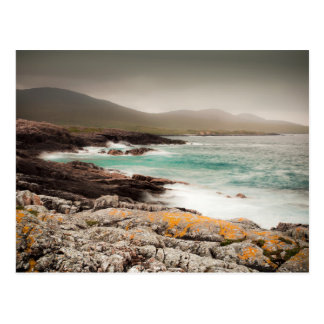 Atlantic Waves in the Outer Hebrides Postcard