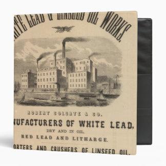 Atlantic White Lead and Linseed Oil Works Binder