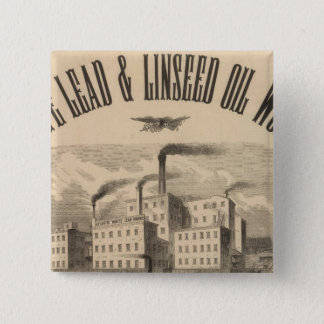 Atlantic White Lead and Linseed Oil Works Button