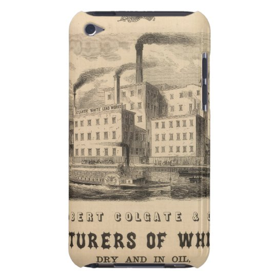 Atlantic White Lead and Linseed Oil Works iPod Touch Case
