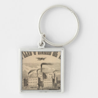 Atlantic White Lead and Linseed Oil Works Keychain