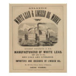 Atlantic White Lead and Linseed Oil Works Posters