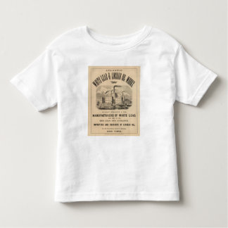 Atlantic White Lead and Linseed Oil Works Toddler T-shirt