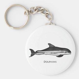 Atlantic White Sided Dolphin Keychain