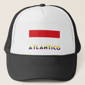 Atlántico Flag with Name Trucker Hat