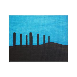 Atlantide - Abandoned Canvas Print