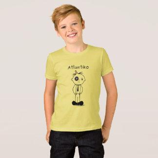 Atlantiko Black T-Shirt