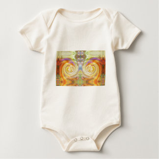 """""""Atlantis"""" by Virginia Lee Dickens Baby Bodysuit"""