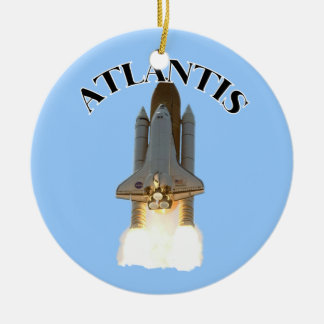 Atlantis Ceramic Ornament